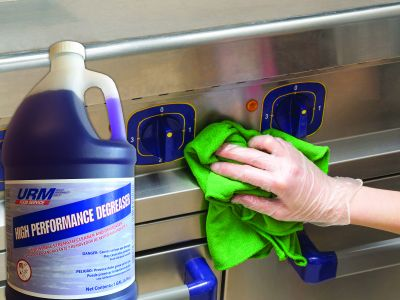 URM High Performance Degreaser Gets The Job Done